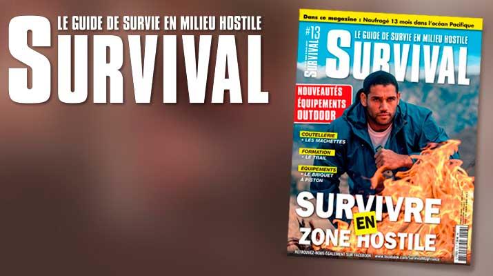 SURVIVAL #13 - 7,50 euros