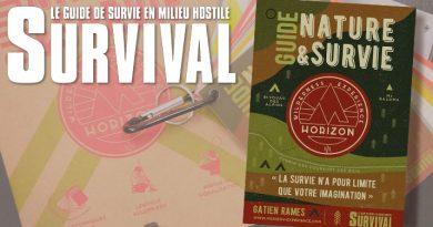 Guide nature et Survie - 24,90 euros