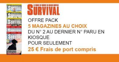 OFFRE SURVIVAL 5mag