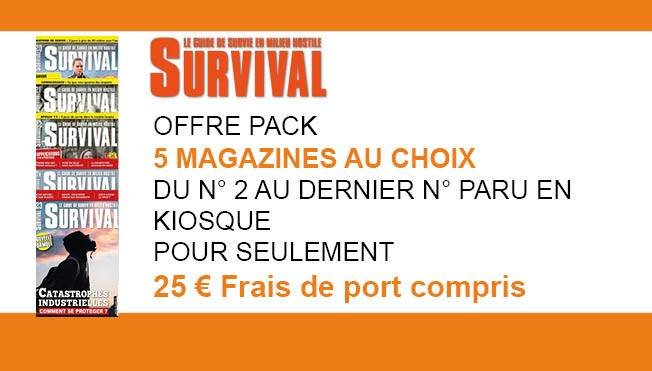 OFFRE SURVIVAL 5mag
