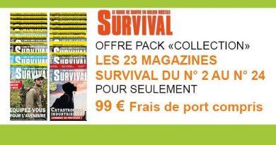 OFFRE SURVIVAL 23mag