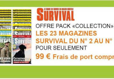 OFFRE PACK COLLECTION SURVIVAL 23 NUMEROS