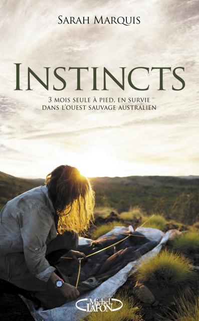 Couvertue livre Instincts par Sarah Marquis
