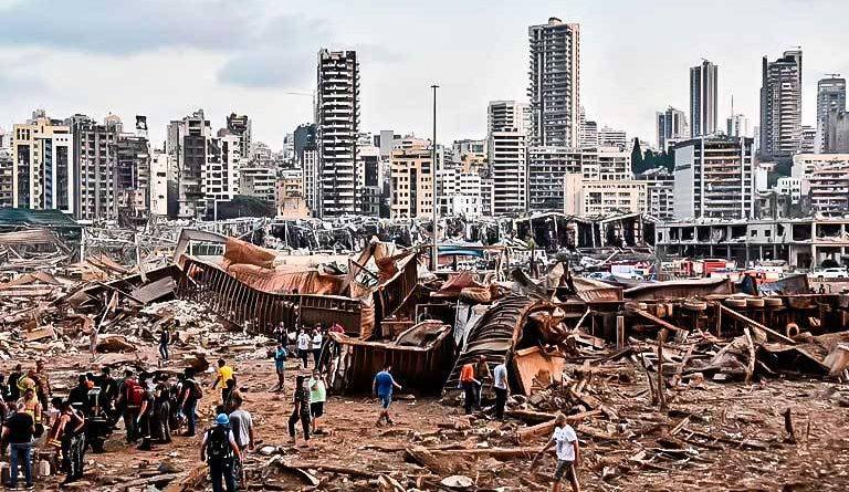 Au cœur du drame de Beyrouth