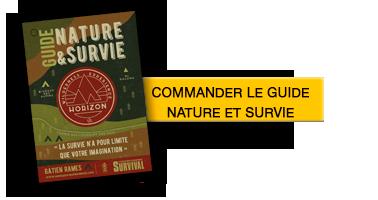 commander guide nature et survie
