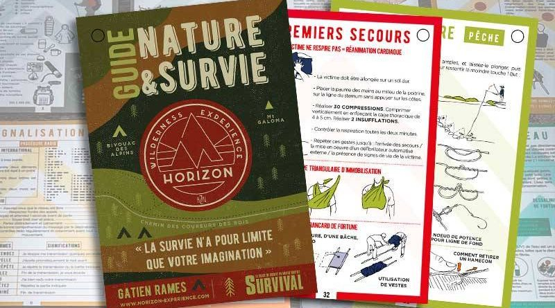 Guide nature et survie header