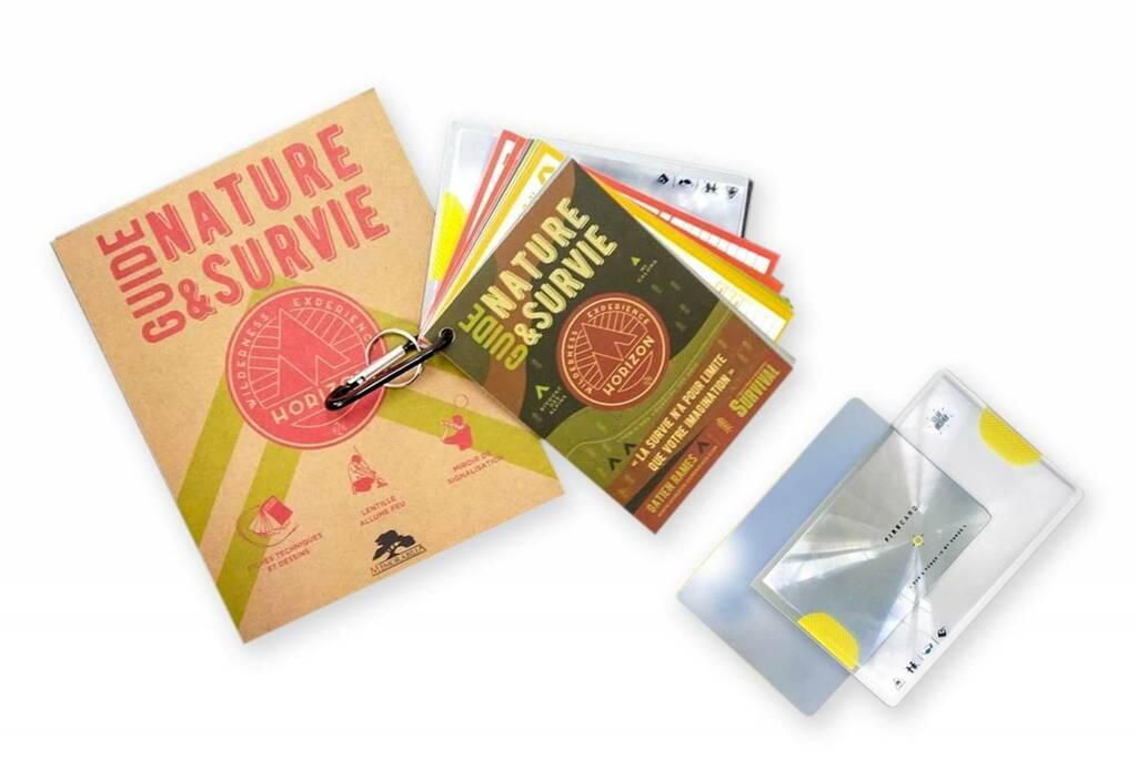 Présentation de l'ensemble de fiche du Guide Nature et s.urvie