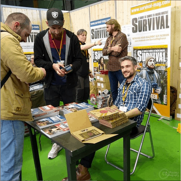 Survival-expo Alban Cambe